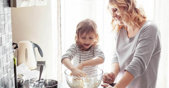 mom-and-daughter-baking-cooking-kitchen